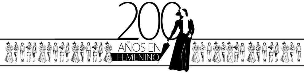 200 años en femenino - Inicio