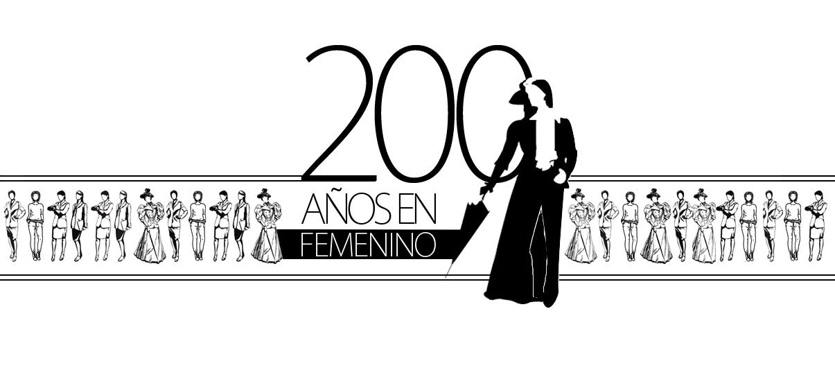 200 años en femenino