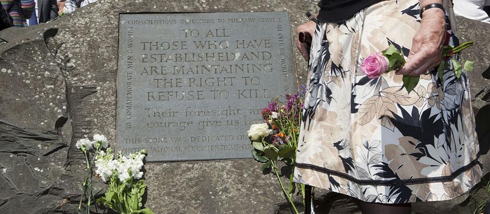 Monumento a objetores de conciencia