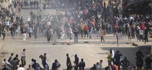Revueltas en Plaza Tahrir