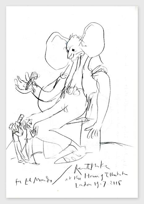 Exposición Quentin Blake. Londres