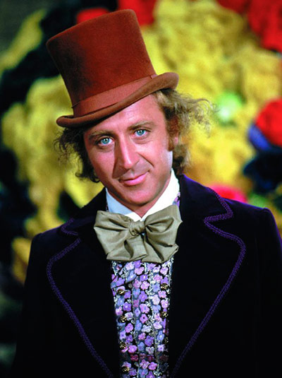 Gene Wilder como Willy Wonka
