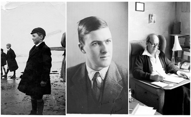 Varios retratos de Roald Dahl