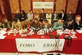 Presentación del manifiesto fundacional del Foro de Ermua. (Foto: Iñaki Andrés)