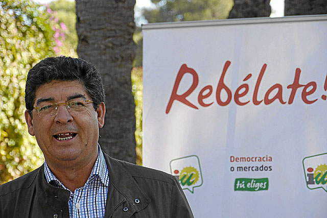 El candidato del PP a la Presidencia de la Junta de Andalucía, Javier Arenas. | Conchitina
