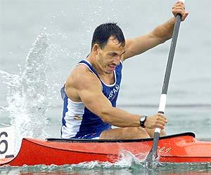 Jovino González, durante los Juegos de Sydney./AP