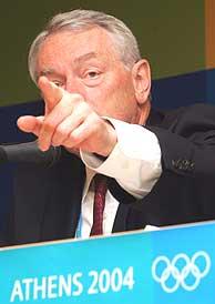 Dick Pound, presidente de la Agencia Mundial Antidopaje./AFP