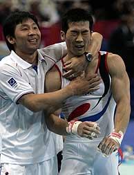 Yang Tae Young, medalla de bronce./AP