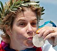 María Quintanal, primera medalla española./EFE