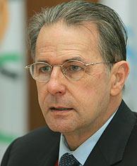Rogge, presidente del CIO. (Foto: AP)
