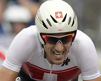 Fabian Cancellara, vencedor de la prueba. (AFP)