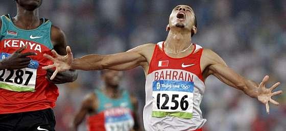 Ramzi, en la meta del 1.500. (Foto: EFE)