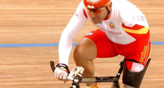 El ciclista español Juan José Méndez. (Foto: CPE).