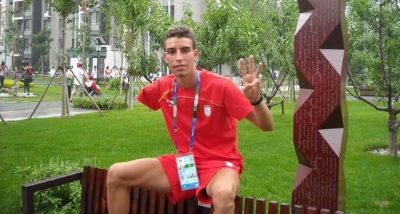 El atleta Abderrahman Ait Khamouch (Foto: Servimedia).