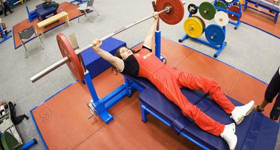 Loida Zabala, entrenando. (Foto: Mikael Helsing).