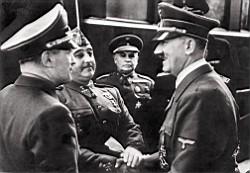 Franco y Hitler en Hendaya, las claves