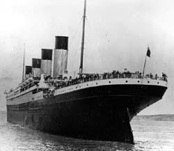 El cine reflota al Titanic