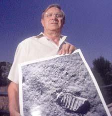 El hombre que pisó la luna