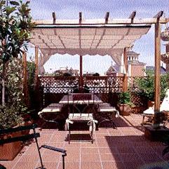 Tendencias decoraci n terrazas sol y sombra - Decoraciones de terrazas ...