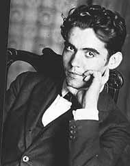 Imagen de archivo de Lorca en su casa de Granada