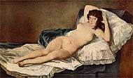 'La maja desnuda', de Goya