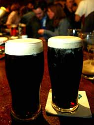 La cerveza negra, la reina de las fiestas de San Patricio (Foto: Antonio Heredia)