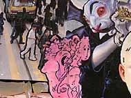 Obra de Rubén Gonzalez, César Carrión y Teresa Rico.