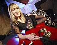 La actriz Celia Blanco, imagen del festival, durante la presentación. (Foto: Kike Para)