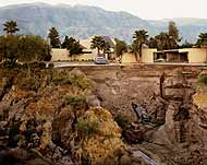 Joel Sternfeld. 'After A Flash Flood', Rancho Mirage, California, 1979