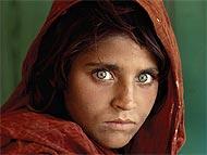 Fotografía de la niña refugiada afgana. (Peshawar, Pakistan 1984 ) (Foto: Steve McCurry)