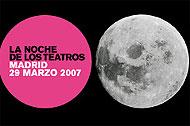 Cartel de 'La Noche de los Teatros'
