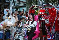 La compañía catalana El Sidral es uno de los grupos que animará las calles de Getafe durante el Festival.