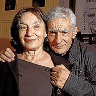 Petra Martínez y Juan Margallo. (Foto Begola Rivas)