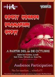 Cartel del show.