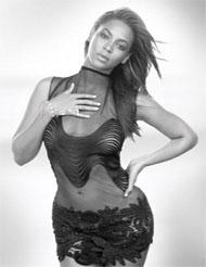 Beyoncé en una foto de su último disco.