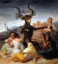 'El aquelarre', de Goya.