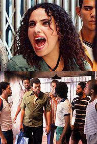 Arriba, 'Rachida' (Yamina Bachir), abajo 'Quase dois irmaos' (Lucia Marat)