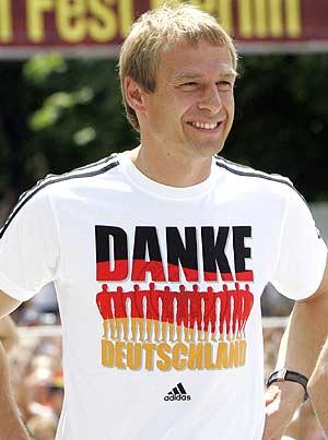 El seleccionador alemán, Klinsmann. (Foto: DPA)