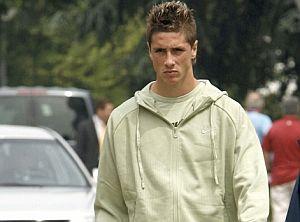 Fernando Torres, en el hotel de concentración. (Foto: EFE)