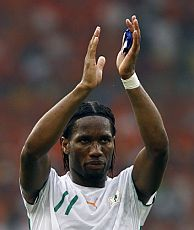 Didier Drogba. (Foto: AFP)