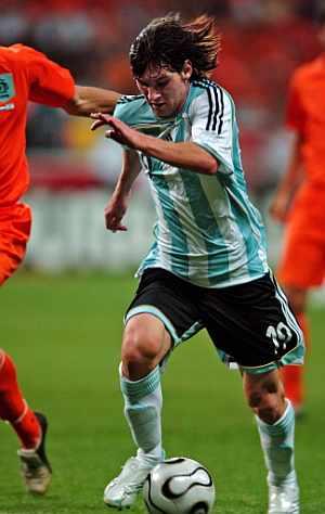 Leo Messi fue titular y jugó 69 minutos. (Foto: AFP)