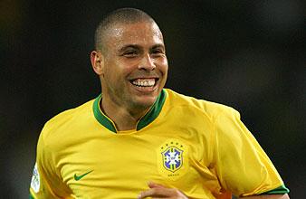 Ronaldo celebra un gol. (AFP)