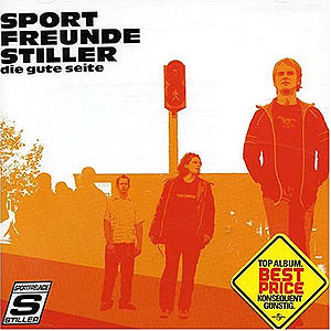Carátula de un CD de 'Sportfreunde Stiller'.