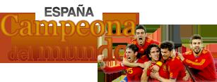 Espana, campeona del mundo