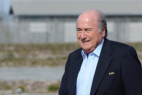 El presidente de la FIFA. (Foto: DPA)