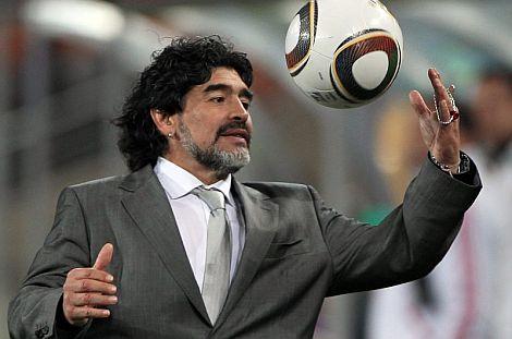 Diego Maradona. | Efe