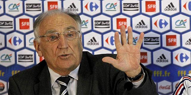 Jean Pierre Escalettes, ex presidente de la Federación Francesa de Fútbol. (AFP)
