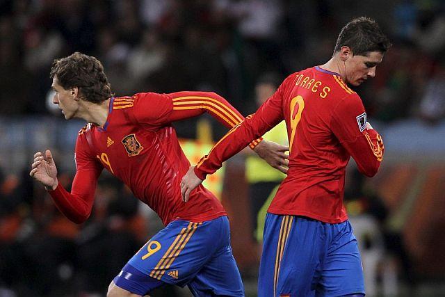 Llorente sustituye a Torres, en el España-Portugal. | Efe