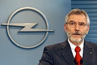 Hans Demant, presidente de Opel, durante la rueda de prensa en Ruesselsheim. (Foto: AP)