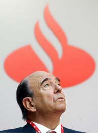 Archivo. El presidente de SCH, Emilio Botín. (Foto: REUTERS).